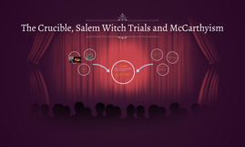 salem witch trials and mccarthyism The salem witch trials and mccarthyism essay sample this statement coincides with the idea that history repeats itself a perfect example of this is the similarities between the salem witch trials and mccarthyism.