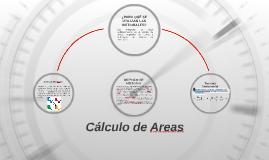 Cálculo de Areas