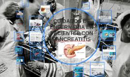 CUIDADOS DE ENFERMERIA EN PACIENTES CON PANCREATITIS