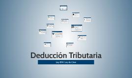 Deducción Tributaria