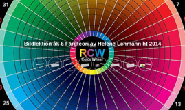 Bildlektion åk 6 Färgteori av Helene Lehmann ht 2014
