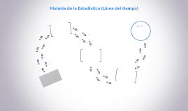 Historia de la Estadistica (Linea del tiempo)