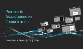 Premios & Asociaciones en Comunicación