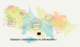 concurso docente: técnicas e instrumentos de exploración i