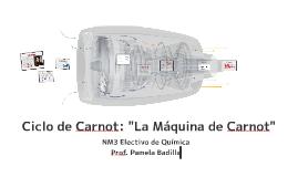 """Copy of Ciclo de Carnot: """"La maquina de Carnot"""""""