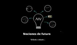 Nociones de futuro