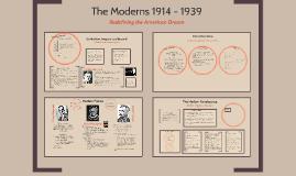 The Moderns 1914 - 1939