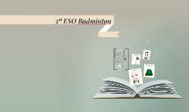3º ESO Badminton