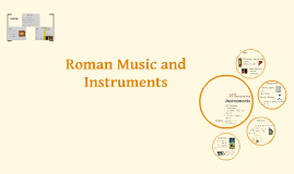 Roman Music and Insruments