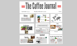 Copy of The coffee journal