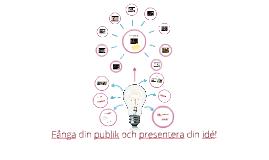 Copy of Fånga din publik och presentera din idé!