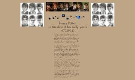 Harry Potter Timeline (ENG4UU ISU)