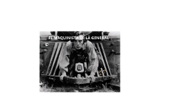 El maquinista de la general: presentación audiovisuales.