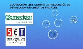 COOMECIPAR Ltda. CONTRA