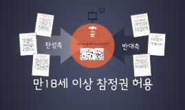 Copy of 만18세 이상 선거 참정권 보장