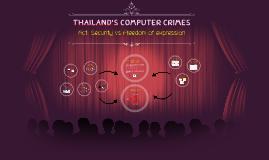ThaiLand's Computer Crimes
