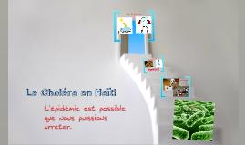 Le Choléra à la Haiti