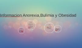 Informacion Anorexia,Bulimia y Obesidad