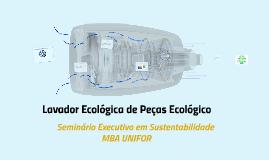 Lavador de Peças Ecológico