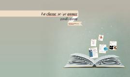 Copy of Copy of La classe 3/4 2014-2015