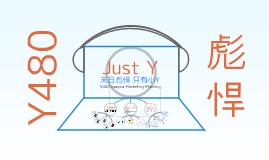 Copy of Copy of Just Y联想营销方案