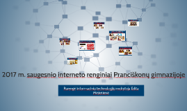 Saugesnio interneto renginiai Pranciškonų gimnazijoje