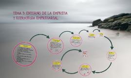 Copy of TEMA 3: ENTORNO DE LA EMPRESA Y ESTRATEGIA EMPRESARIAL