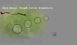 Open House:  Pisgah Forest Elementary