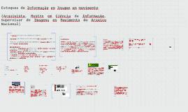 Estoques de Informação em Imagem em movimento