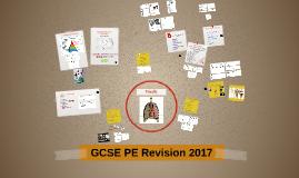 GCSE PE Revision 2016