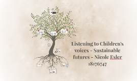 Children's voices....