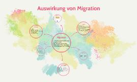 Auswirkung von Migration