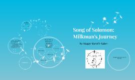 Song of Solomon: Milkman's journey