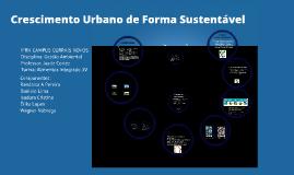 Crescimento Urbano de Forma Sustentável