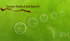 Career Paths & Job Search