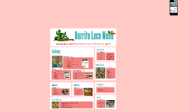 Burrito Loco Menu