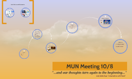 MUN Meeting 10/8