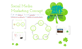 "Social Media Marketing Concept for ""Stars for Children"""