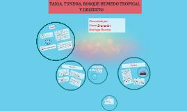 PRESENTACION CIENCIAS: Taiga, Tundra, Bosque humedo tropical y Desierto