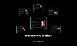 Copy of Copy of movimientos poeticos ( linea del tiempo )