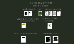 sci vis assignments
