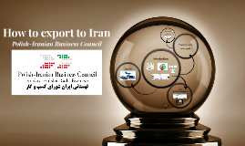 How to export to Iran