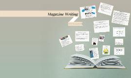 Copy of Magazine Writing