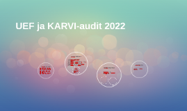 UEF ja KARVI-audit 2016