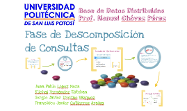 Copy of Fase de Descomposición de Consultas