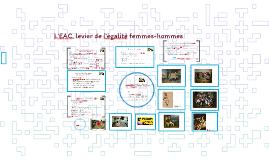 L'EAC au prisme de l'égalité FH