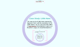 The reliability and validity of Freud's case study; Little ...
