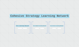 Cohesive Strategy Learning Network
