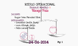 Copy of Riesgo pais