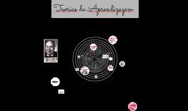 Teorias da Aprendizagem  - Gagné
